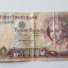 IRLANDA DE NORD 20 LIRE 2009 AIB BANK - bancnota europa