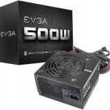 PSU EVGA 500W, 80 PLUS