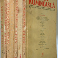 Lot reviste VIATA ROMANEASCA , anii '50