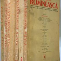 Lot reviste VIATA ROMANEASCA, anii '50 - Revista culturale