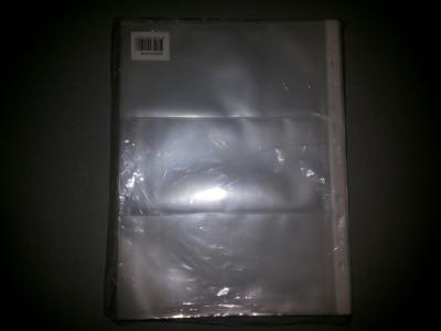 Folii Bancnote 90 Microni 3 Compartimente 100 Buc foto