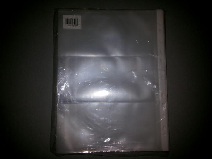 Folii Bancnote 90 Microni 3 Compartimente 100 Buc foto mare