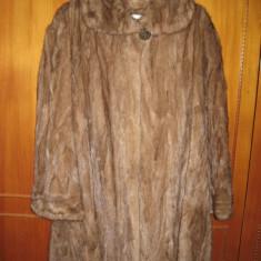 Haina din blana naturala nurca - haina de blana