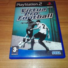Joc ps2/Playstation 2 Virtua Pro Football - Jocuri PS2 Sega