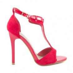 Sandale - Sandale dama Benvenuti, Culoare: Rosu, Marime: 38