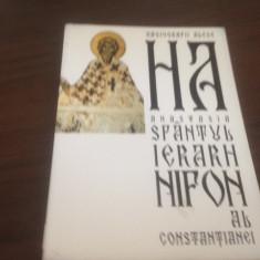 SFANTUL IERARH NIFON AL CONSTANTIANEI, EDIT. ANASTASIA, HAGIOGRAFII ALESE - Vietile sfintilor