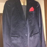 Costum Cavaliere Bleumarin