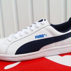 Puma Smash Piele - Nr.37, 38, 39 - Import Anglia - Adidasi dama Puma, Culoare: Alb, Piele naturala