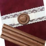 Baton ceara maro cafea cu lapte pentru sigilii