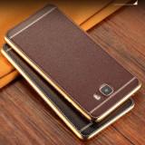 Husa bumper SAMSUNG GALAXY S8 S8 PLUS armor piele business MARO COFFE unicat - Husa Telefon