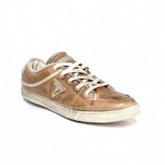 Sneakers Guess aspect vintage - Adidasi barbati Guess, Marime: 40, Culoare: Din imagine