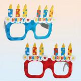Ochelari haiosi asortati pentru petrecere - Funny Glasses, OOTB 181034, Set 4 buc