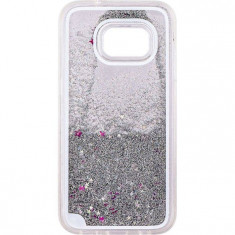 Capac de protectie Tellur Glitter pentru Samsung Galaxy S7 White