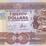 Bancnota Insulele Solomon 20 Dolari (2006) - P28 UNC ( serie C/2 )