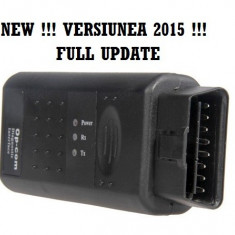 Op com 2015 Interfata, Tester, Diagnoza Opel