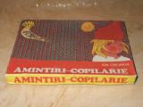 JOC VECHI ROMANESC  ''AMINTIRI DIN COPILARIE'' ( ILUSTRATII GION MIHAIL )