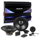 Auna CS Comp-10 auto Hi-Fi set 6 canale set de difuzoare amplificator & 6 canale Endstuf - Amplificator auto