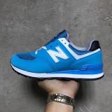 New Balance 574 albastru cu alb marimi de la 36 la 40 - Adidasi dama, Marime: 37, 38, 39