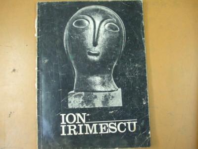 Ion Irimescu sculptura grafica catalog expozitie Dalles Bucuresti 1973 foto