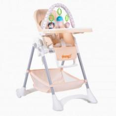 Scaun Copii Pentru Masa Moni Mango Pinky-Beige
