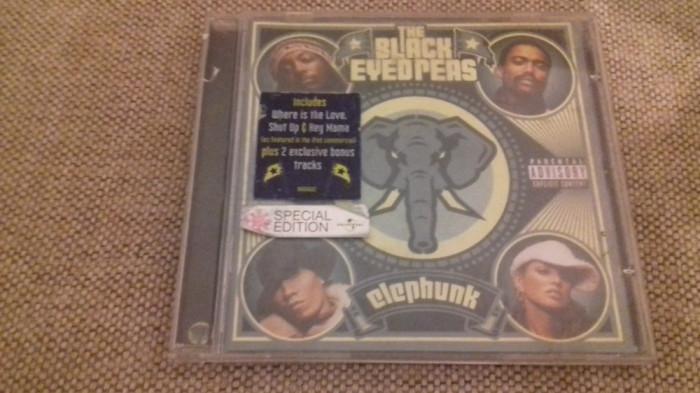 The Black eyed Peas- Elephunk - Special Edition  -  CD [C,cd]