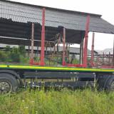 Remorca forestiera - Camion