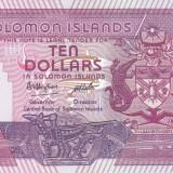 Bancnota Insulele Solomon 10 Dolari (1986) - P15 UNC ( serie B/3 )