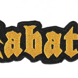 Patch Sabaton - Logo Cut