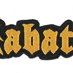 Patch Sabaton - Logo Cut - Patch Panel