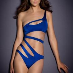 Costum de baie întreg Sunny, Marime: S, M, L, Culoare: Albastru, Negru, O piesa