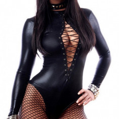 Costum Sexy Ally din Latex - Costum Mos Craciun
