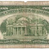 SUA USA 2 DOLARI DOLLARS 1953 U - bancnota america