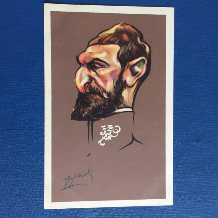 Caricatura - Regele Ferdinand