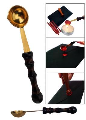 Lingurita pentru topit ceara sigilii foto