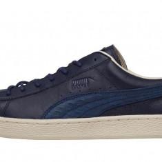 Puma Bleumarin Clasic - Nr. 38-24 cm - Piele - Adidasi copii Puma, Unisex, Piele naturala