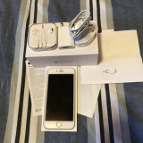 iPhone 6 Apple gold 16gb neverlocked full box, Auriu, Neblocat
