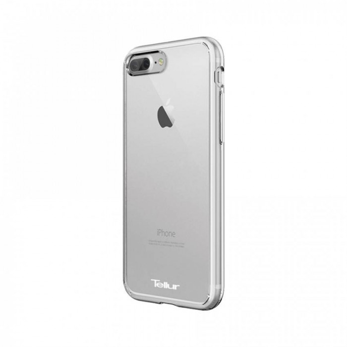 Husa de protectie Tellur Premium Crystal Shield pentru iPhone 7 Plus Transparent foto mare