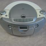 RADIO CASETOFON CU CD PHILIPS AZ1027