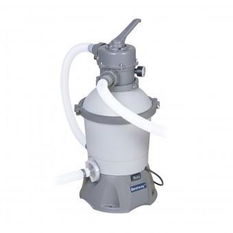 Pompa filtrare apa piscine cu nisip Bestway 58397, capacitate 2000 L/h foto