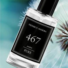 Parfum barbati Federico Mahora FM 467 Pure - Citrice, militant 50ml, Apa de parfum