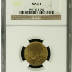 5 LEI 1930 H - KN - PARIS - MS 63/ MS63/MS64 MONEDE DE COLECTIE - Moneda Romania