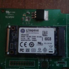SSD Kingston 60gb/s.ata/msata-Adaptor Inclus