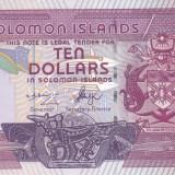 Bancnota Insulele Solomon 10 Dolari (2006) - P27 UNC ( serie C/2 )