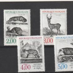 Fauna animale, Franta, - Timbre straine, Nestampilat