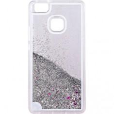 Capac de protectie Tellur Glitter pentru Huawei P9 Lite White