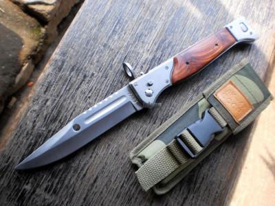 CUTIT VANATOARE/MILITAR,CELEBRUL AK-47 CCCP,CUTITUL RUSESC DE LA ARMA AK47+TOC. foto