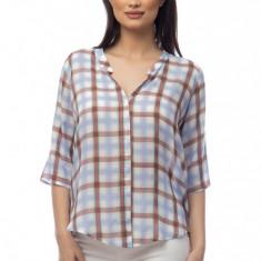 Camasa Dama cu Imprimeu Geometric Multicolor, Marime: S, M, L, XL