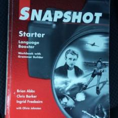 SNAPSHOT Starter Language Booster Pearson - Manual scolar, Abecedar, Limbi straine