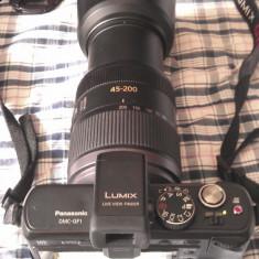 Panasonic Lumix DMC-GF1 CU OBIECTIV 45-200 - Aparat Foto Mirrorless Panasonic