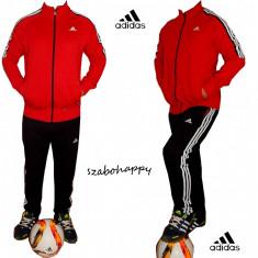 Trening Adidas Climacool pentru barbati. - Trening barbati Adidas, Marime: L, XXL, Culoare: Rosu, Bumbac